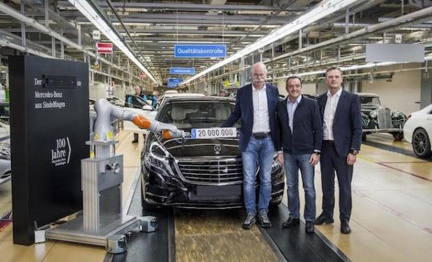 Photo of Mercedes-Benz Werk Sindelfingen produziert 20-millionstes Fahrzeug