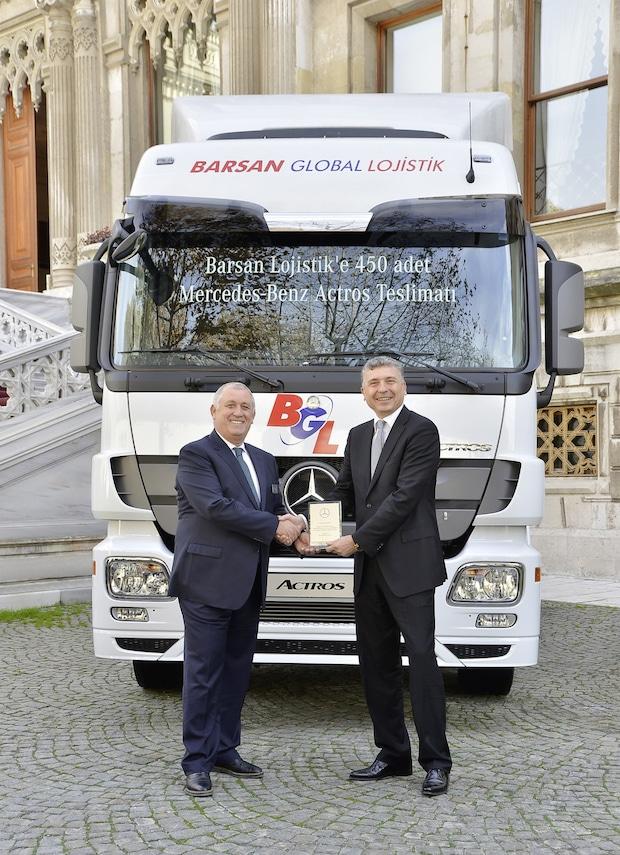 Photo of 450 Mercedes-Benz Actros verstärken die Flotte von Barsan Global Logistics
