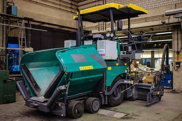Photo of Hybrid-Straßenfertiger an der TH Köln entwickelt