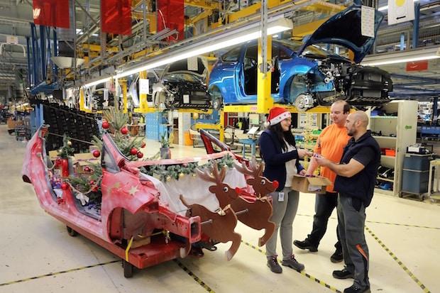 Photo of Heißer Ford Fiesta-Schlitten: Weihnachtsaktion in der Fahrzeugfertigung von Ford in Köln