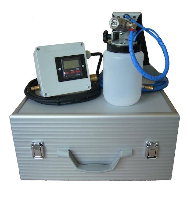 """Das Air Clean Fahrzeugdesinfektions-System"" Foto: Air Clean Fahrzeugdesinfektion"