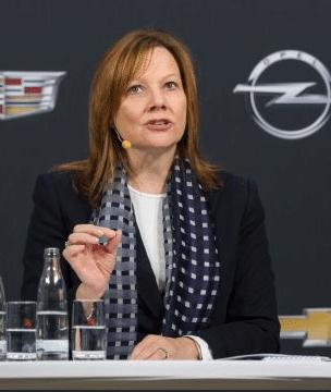 Photo of GM-Chairman und CEO Mary Barra spricht beim 16. CAR-Symposium über die Zukunft der individuellen Mobilität