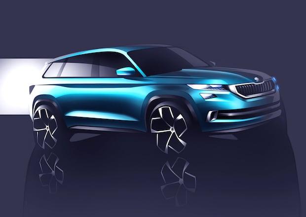 Photo of SUV-Designstudie SKODA VisionS feiert Premiere in Genf