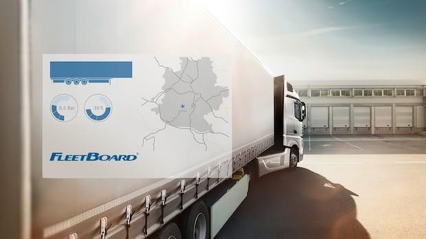 Photo of Neu: FleetBoard Trailer Management kombiniert die Telematikdaten von Zugmaschine und Auflieger