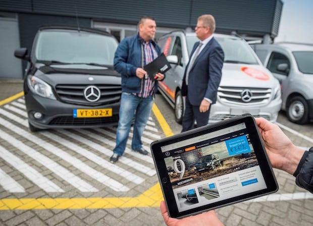 Photo of Mercedes-Benz Vans testet Online-Vertriebskanal in den Niederlanden