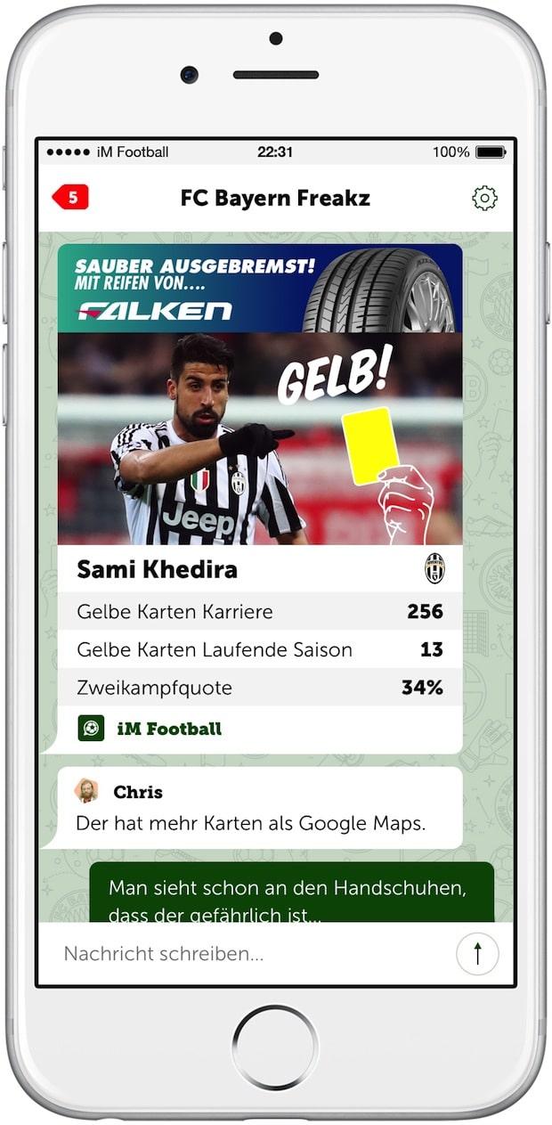 """Photo of Volkswagen AG und FALKEN Reifen als Partner für neue Messenger-App """"iM Football – Der Fan-Messenger"""""""