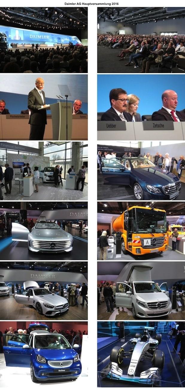 Photo of Rekordausschüttung bei der Daimler AG Hauptversammlung 2016