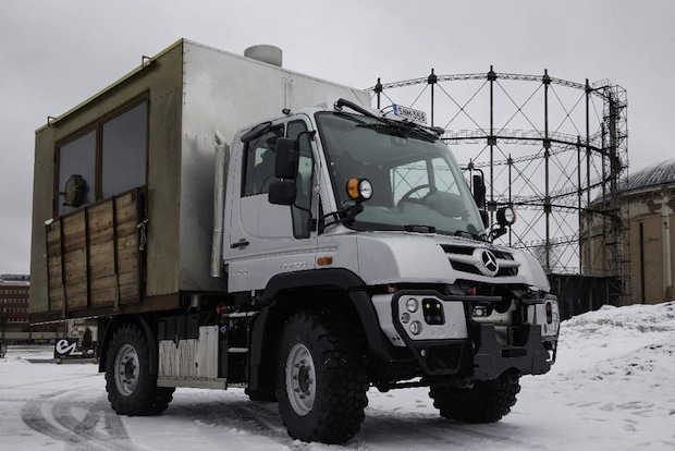 "Photo of Unimog als ""Food-Truck"" unterwegs in Finnland"