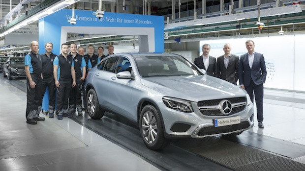 Photo of Mercedes-Benz startet Produktion des neuen GLC Coupés