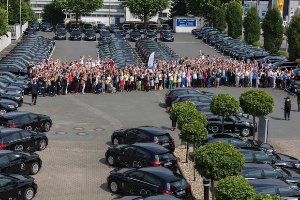 Photo of 200 A-Klassen verschönern Deutschlands Straßen
