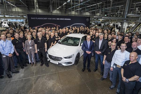 Photo of Neuer Insignia: Startschuss zur Produktion des Opel-Flaggschiffes
