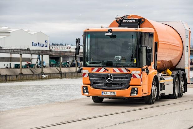 Photo of Abfallwirtschaft Stuttgart setzt auf Erdgasantrieb mit sieben Mercedes-Benz Econic NGT