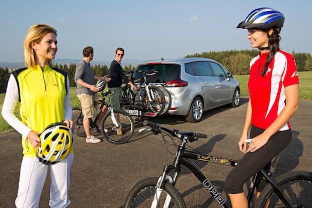 Photo of Fahrräder ganz einfach mit Opel FlexFix transportieren