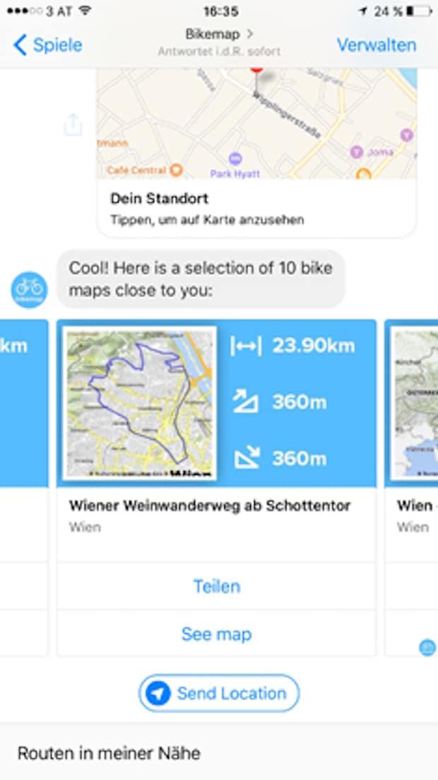 Photo of Bikemap präsentiert ersten Chat-Bot der Bike-Branche