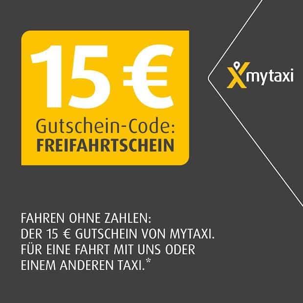 Photo of mytaxi ermöglicht kostenfreie Taxifahrt in Höhe von 15 Euro