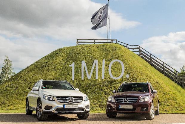 Photo of Absatzjubiläum bei Mercedes-Benz: GLC überschreitet Millionenmarke
